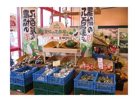 JAたじま八鹿農産物直売部会(会員63名)の野菜がずらりと並ぶ「農協の... 農協の八百屋さん